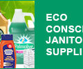 eco-conscious janitorial supplies